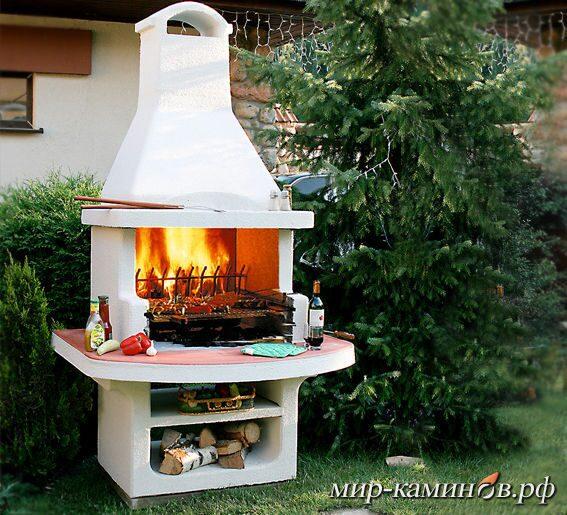 Из чего сделана печь-барбекю престиж электрические камины real flame купить
